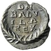 ½ silique Baduila / Au nom d'Anastase I, 491-518 (Ticinum) – revers