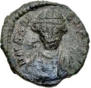 10 nummi Baduila (Rome) – avers