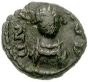 2½ nummi Baduila (Rome) – avers