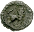 2½ nummi Baduila (Rome) – revers