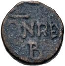 2½ nummi Baduila / Au nom d'Anastase I, 491-518 (Ticinum) – revers
