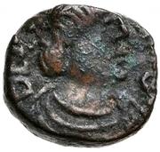 2½ nummi Baduila / Au nom d'Anastase I, 491-518 (Rome) – avers