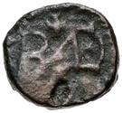 2½ nummi Baduila / Au nom d'Anastase I, 491-518 (Rome) – revers