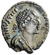 ¼ silique Amalasonte / Au nom de Justinien I, 527-565 & Théodoric, 493-526 (Ravenne) – avers