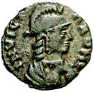 10 nummi Théodat (Rome) – avers
