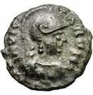 5 nummi Athalaric (Rome) – avers