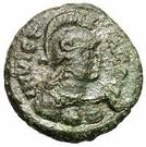 10 nummi Athalaric (Rome) – avers
