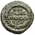 10 nummi Athalaric (Rome) – revers
