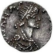 ½ silique Théodoric / Au nom d'Anastase I, 491-518 (Milan) – avers