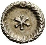 ½ silique Théodoric / Au nom d'Anastase I, 491-518 (Rome) – revers