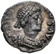 ¼ silique Théodoric /  Au nom d'Anastase I, 491-518 (Ravenne) – avers