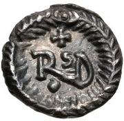 ¼ silique Théodoric /  Au nom d'Anastase I, 491-518 (Ravenne) – revers