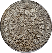 1 thaler Ludwig Eberhard (Ferdinand II) -  avers