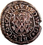 2 kreuzer Ludwig Eberhard (Ferdinand II) – avers