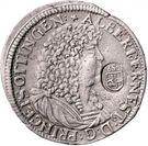 1 Gulden 60 Kreuzer - Albrecht Ernst I – avers