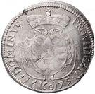 1 Gulden 60 Kreuzer - Albrecht Ernst I – revers