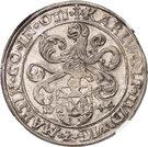1 thaler Charles Wolfgang, Louis XV et Martin – avers