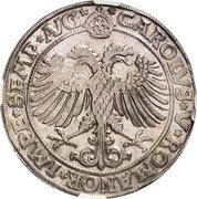 1 thaler Charles Wolfgang, Louis XV et Martin – revers