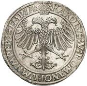 1 thaler Karl Wolfgang, Ludwig XV et Martin – revers