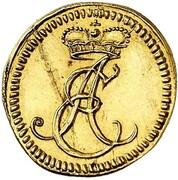 ¼ ducat Albrecht Ernst I – avers