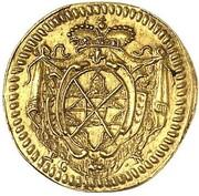 ¼ ducat Albrecht Ernst I – revers
