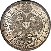 1 Thaler - Wolfgang IV – revers