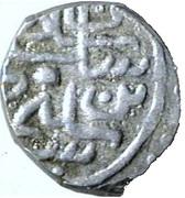 Akce - Soliman I (Avec étoile, légende linéaire) – avers