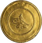 3 Altın - Mahmud I – avers