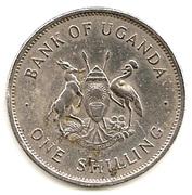 1 shilling (acier plaqué cupronickel) – avers