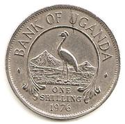 1 shilling (acier plaqué cupronickel) – revers