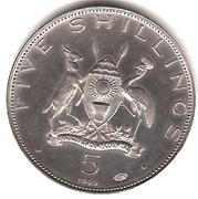 5 shillings (Paul VI) – avers