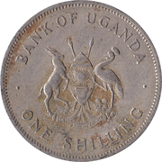 1 shilling (cupronickel) – avers