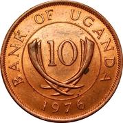 10 cents (acier plaqué cuivre) – avers