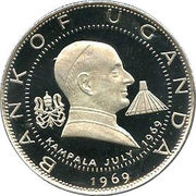 2 shillings (Paul VI) – revers