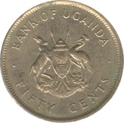 50 Cents (acier plaqué cupronickel) – avers