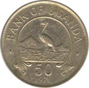 50 Cents (acier plaqué cupronickel) – revers