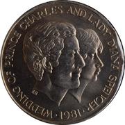 10 Shillings - Royal Weeding – revers