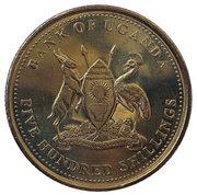 500 shillings -  avers
