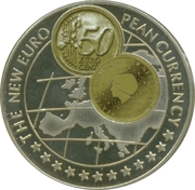 1000 Shillings / The Netherlands 50 Euro cent -  revers