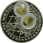 1000 Shillings / 2 Euro Netherlands -  revers