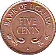 5 cents (acier plaqué cuivre) – revers