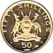 50 shillings (Paul VI) – avers