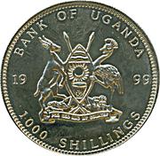 1000 Shillings / Germany Euro -  avers