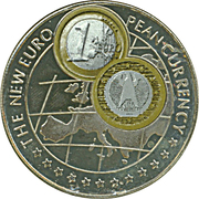 1000 Shillings / Germany Euro -  revers