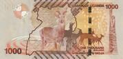 1000 Shillings – revers