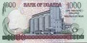 1,000 Shillings – revers
