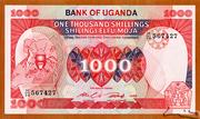 1 000 Shillings – avers