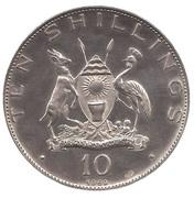 10 shillings (Paul VI) – avers