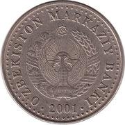 50 Soʻm (Indépendance; type léger) – avers