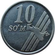 10 Soʻm – revers